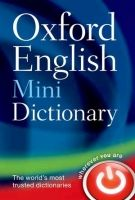 OUP References OXFORD ENGLISH MINIDICTIONARY 8th Edition - HOLE, G. cena od 122 Kč