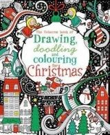XXL obrazek Usborne Publishing DRAW DOODLING COLOUR CHRISTMAS - WATT, F.