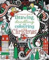 Usborne Publishing DRAW DOODLING COLOUR CHRISTMAS - WATT, F. cena od 247 Kč