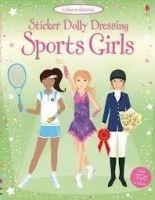 Usborne Publishing Sticker Dolly Dressing: Sports Girls cena od 177 Kč