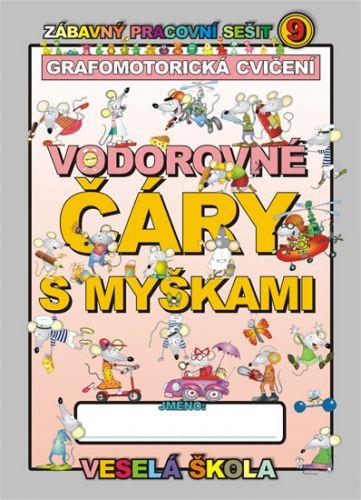 Jan Mihalík: Vodorovné čáry s myškami (grafomotorická cvičení) cena od 9 Kč