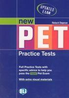 ELI s.r.l. NEW PET PRACTICE TESTS - CHAPMAN, R. cena od 220 Kč