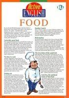 ELI s.r.l. ACTIVE ENGLISH Subject 4 - FOOD cena od 105 Kč