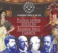 Wolfgang Amadeu Mozart, Antonín Dvořák, Bedřich Smetana, Georges Bizet: Nebojte se klasiky 9-12, komplet opery Prodaná nevěsta, Rusalka, Kouzelná flétna, Carmen - 4CD cena od 570 Kč