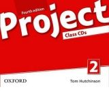 T. Hutchinson: Project Fourth Edition 2 Class Audio CDs cena od 493 Kč