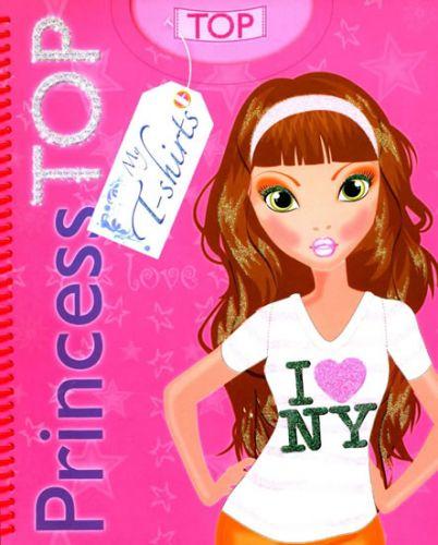 Princess TOP My T-shirts 1 (růžová) cena od 64 Kč