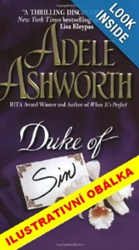 Adele Ashworth: Hříšný vévoda cena od 181 Kč