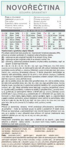 Holman SKLÁDAČKA - Novořečtina - souhrn gramatiky cena od 84 Kč