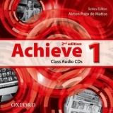 OUP ELT ACHIEVE 2nd Edition 1 CLASS AUDIO CDs /2/ - DE MATTOS, A. P. cena od 439 Kč