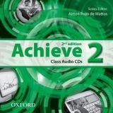 OUP ELT ACHIEVE 2nd Edition 2 CLASS AUDIO CDs /2/ - DE MATTOS, A. P. cena od 418 Kč