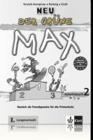 Langenscheidt DER GRÜNE MAX NEU 2 ARBEITSBUCH mit AUDIO CD - KRULAK, KEMPI... cena od 246 Kč