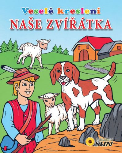 Veselé kreslení Naše zvířátka cena od 42 Kč