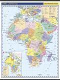Kartografie PRAHA, a. s. Afrika -školní- politické rozdělení - nástěnná mapa - 1:10 0... cena od 999 Kč