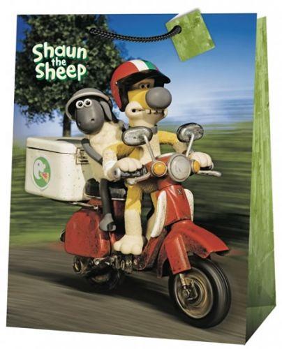 Ovečka Shaun, dárková taška , jumbo 5 cena od 36 Kč