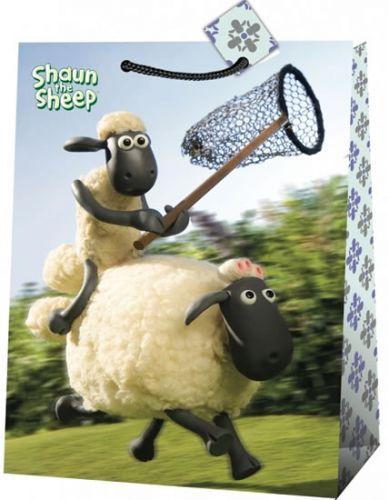 Ovečka Shaun, dárková taška , jumbo 6 cena od 36 Kč