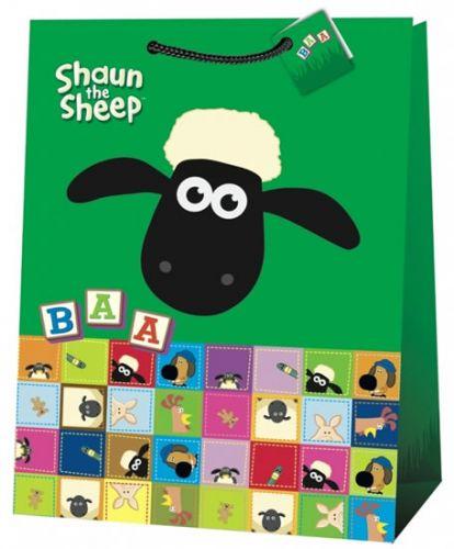 Ovečka Shaun, dárková taška , jumbo 7 cena od 36 Kč