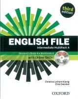 OUP ELT ENGLISH FILE Third Edition INTERMEDIATE MULTIPACK A - LATHAM... cena od 435 Kč