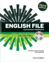 OUP ELT ENGLISH FILE Third Edition INTERMEDIATE MULTIPACK B - LATHAM... cena od 461 Kč