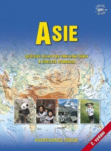 Kartografie PRAHA, a. s. Asie sešitový atlas pro ZŠ a víceletá gymnázia cena od 71 Kč