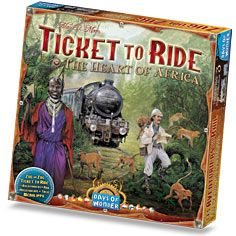 Days of Wonder: Ticket to Ride - Map Collection - The Heart of Africa