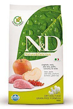 Farmina N a D Grain Free DOG Adult Boar a Apple 2,5 kg