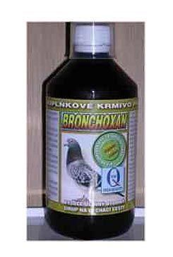 Aquamid Bronchoxan pro holuby bylinný sirup 500 ml
