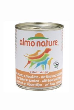 Almo Nature Almo Dog Nature pes konzerva hovězí 290 g