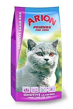 Arion Cat Sensitive Lamb Rice 15 kg