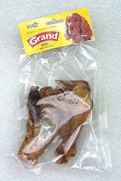 Jeseničan GRAND Sušená Mňamka vepřové ucho kousky 100 g