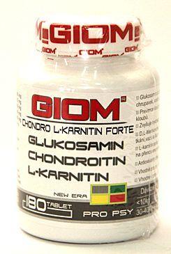 ZWILLING Giom ERA pes Chondro L-karnitin Forte 180 tablet