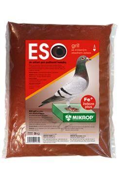 Mikrop ČEBÍN ESO GRIT se železem pro poštovní holuby plv 3 kg