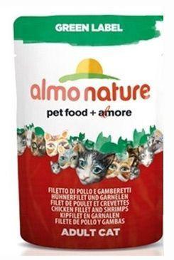 Almo Nature Green Label sumec filet 55 g