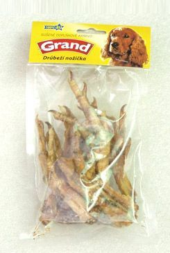 Jeseničan GRAND Sušenka Mňamka pařátky drůbeží nožka 100 g