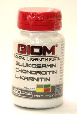 ZWILLING Giom ERA Chondro L-karnitin Forte 60 tablet cena od 301 Kč