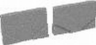 ACO Self Maxi čelní stěna s PVC nátrubkem DN100 76097