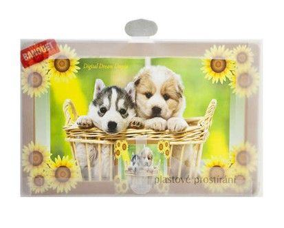 BANQUET 12-dílná sada plastového prostírání Dogs cena od 89 Kč