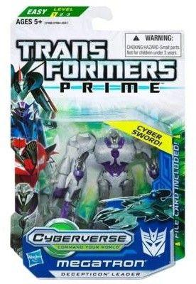 HASBRO Transformers Prime Cyberverse - MEGATRON, 10 cm cena od 359 Kč