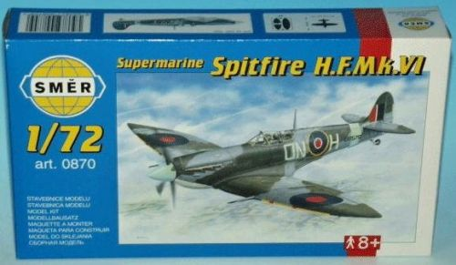 SMĚR Supermarine Spitfire MK.VI 1:72 cena od 85 Kč