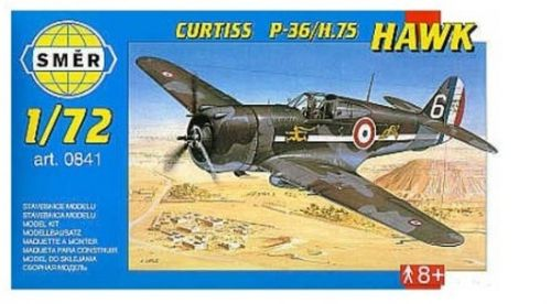 SMĚR Curtiss P-36/H.75 Hawk cena od 78 Kč