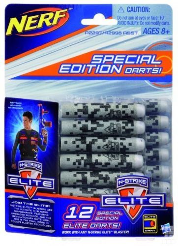 HASBRO NERF Elite deco náhradní šipky 12 ks cena od 0 Kč