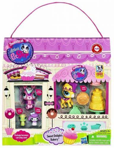 HASBRO LPS Cukrárna s přenosným balením Littlest Pet Shop cena od 0 Kč