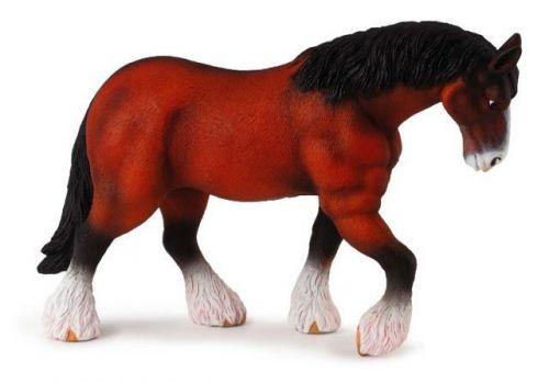 Mac Toys Figurka kůň - Clydesdaleská kobyla hnědá cena od 106 Kč