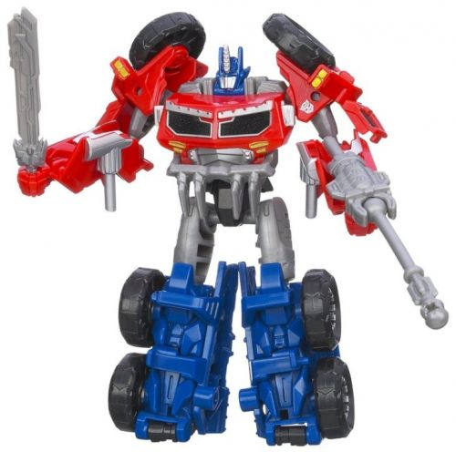 HASBRO Transformers Prime - Lovci příšer Optimus Prime s akčními doplňky cena od 329 Kč