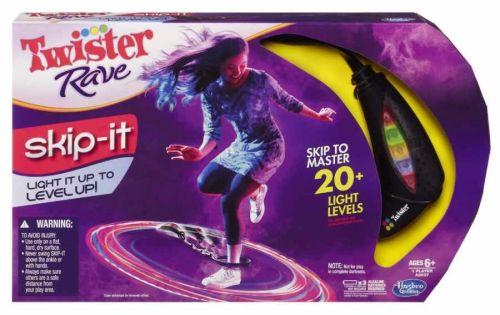 HASBRO Twister Rave taneční světelné a barevné přeskakovadlo cena od 0 Kč