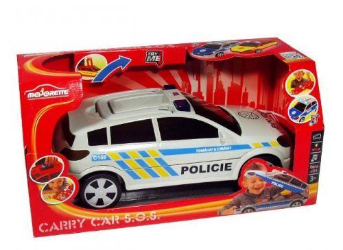 Majorette Kufřík auto policie