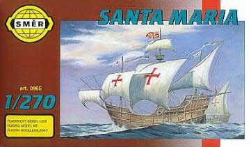 SMĚR Plachetnice SANTA MARIA 1:270 cena od 90 Kč