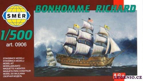 SMĚR Plachetnice BONHOMME RICHARD 1:500 cena od 79 Kč