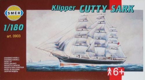 SMĚR Klipper CUTTY SARK 1:180 cena od 98 Kč