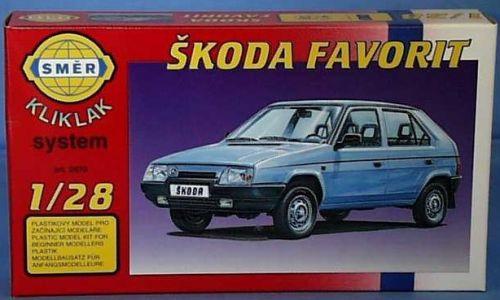 SMĚR Škoda Favorit 1:28 cena od 85 Kč