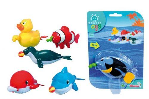 SIMBA Plavací zvířátko do vany na natahování cena od 80 Kč
